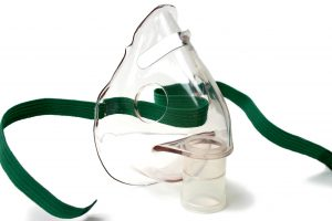 Nebuliser mask for asthma